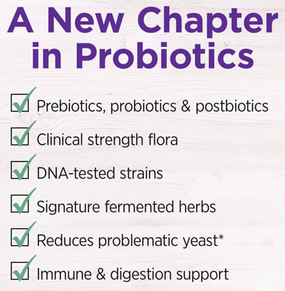 Probiotic All Flora by New Chapter