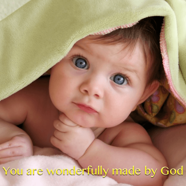 You are wonderfully and fearfully made!