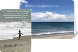 Encouragement Note Cards with Bible Verse