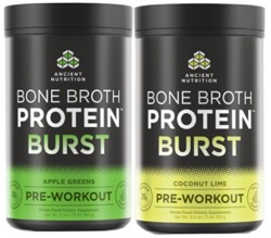 Dr Josh Axe and Jordan Rubins New Bone Broth Protein Burst energizer