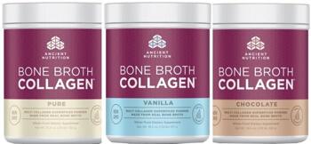 Jordan Rubins Bone Broth Collagen by Ancient Nutrition