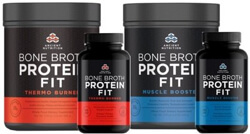 Bone Broth Protein Fit Fitness from Dr Josh Axe and Jordan Rubin