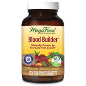 MegaFood Blood Builder at a XXX% discount.  Blood Builder