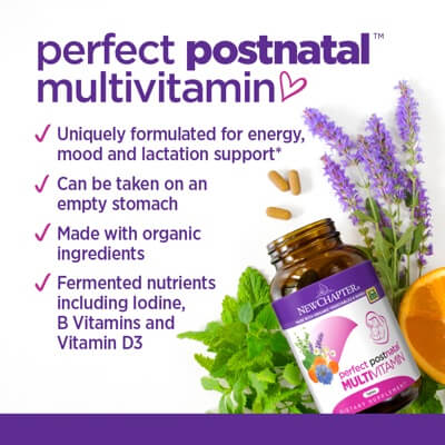 Perfect Postnatal by New Chapter