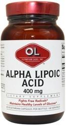Alpha Lipoic Acid Page