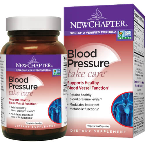 New Chapter Blood Pressure Balance  60 Capsules