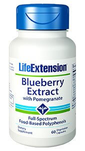 Life Extension Blueberry Extract with Pomegranate  60 capsule
