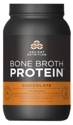Ancient Nutrition Bone Broth Protein Chocolate 40 Servings
