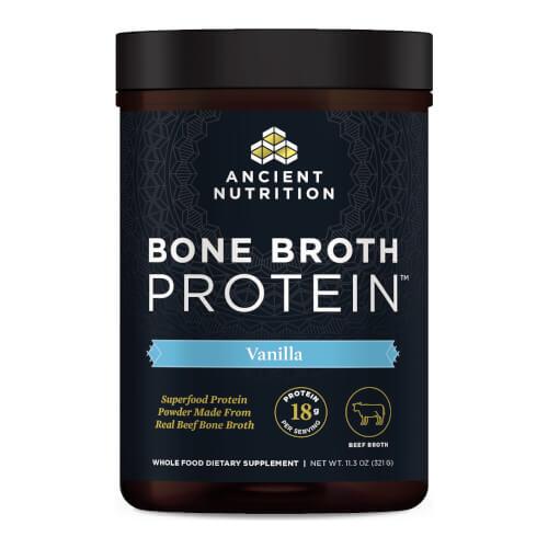 Ancient Nutrition Bone Broth Protein Beef Vanilla 320g Powder
