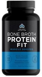 Bone Broth Protein FIT Muscle Booster Page