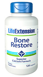 Life Extension Bone Restore without K  120 Capsules