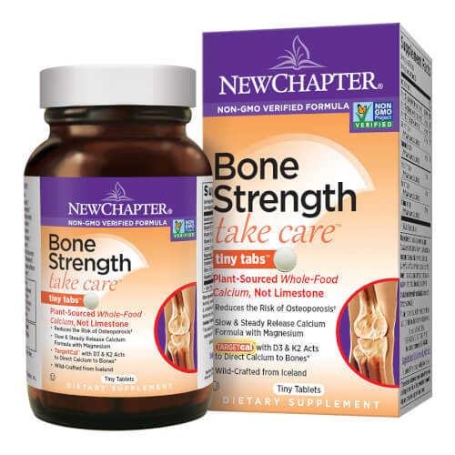New Chapter Bone Strength Take Care  240 Tiny Tabs