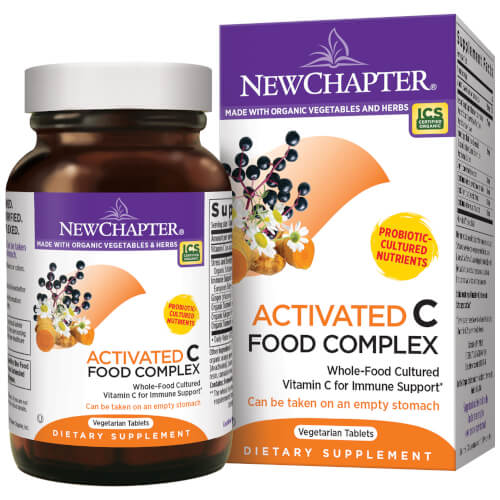 New Chapter C Food Complex  180 Tablets