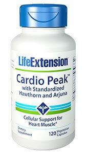 Life Extension Cardio Peak with Hawthorn and Arjuna  120 Capsules