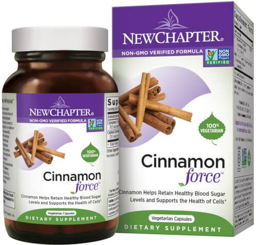 New Chapter Cinnamonforce  60 Liquid VCaps