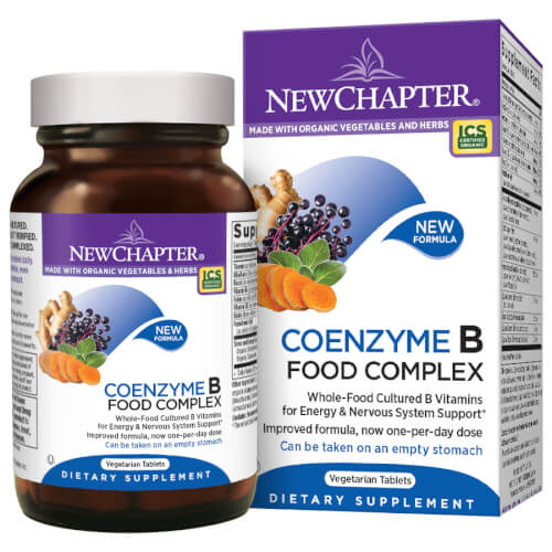 New Chapter Coenzyme B Food Complex One Daily  60 Tablets