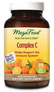MegaFood Complex C  90 Tablets