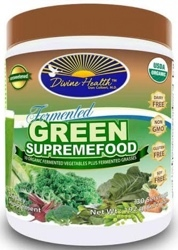 Divine Health Fermented Green Supremefood Page