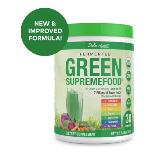 Dr Colbert Divine Health Fermented Green Supremefood  30 Days Powder