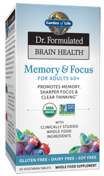 Dr Formulated Brain Health Memory and Focus for Adults 40 Plus Page