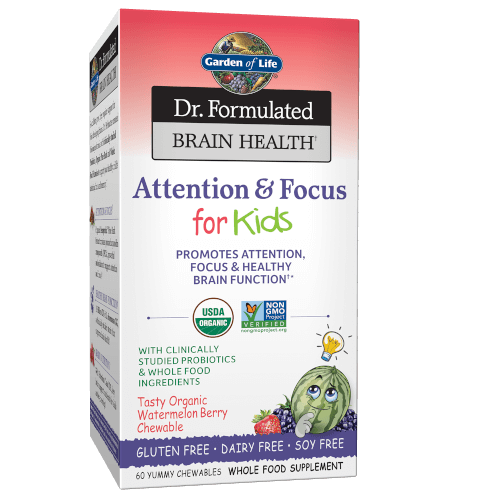 Dr Formulated Brain Health Memory and Focus for Kids Page