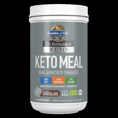 Garden of Life Dr Formulated Keto Meal Chocolate 24.69 oz Powder