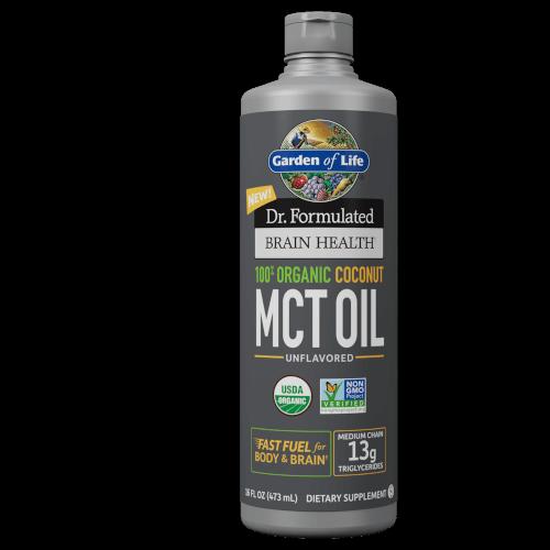 Garden of Life Dr Formulated Organic Coconut MCT Oil  16 oz Liquid