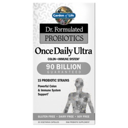 Dr Formulated Probiotics Once Daily Ultra Product Page