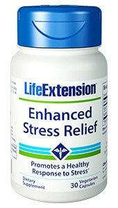 Life Extension Enhanced Stress Relief  30 Veg Caps