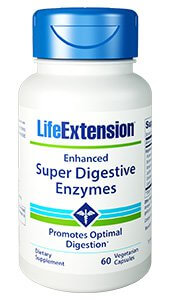 Life Extension Enhanced Super Digestive Enzymes  60 Capsules