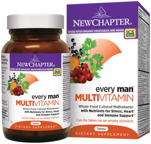New Chapter Every Man  120 Tablets