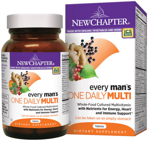 New Chapter Every Man One Daily  72 Tablets