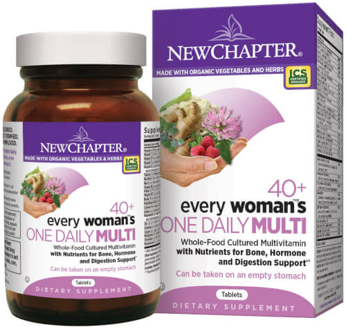 New Chapter Every Woman One Daily 40 Plus  72 Tablets