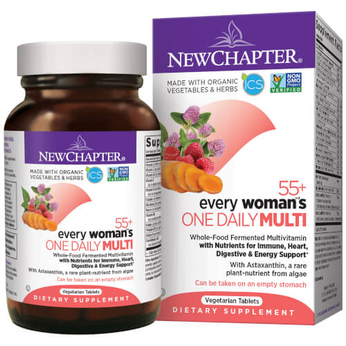 New Chapter Every Woman One Daily 55 Plus  96 Tablets