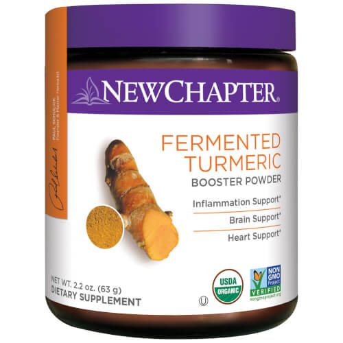 Fermented Turmeric Booster Powder Page