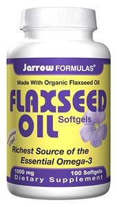Jarrow Flaxseed Oil 1000 mg 100 Softgels