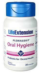 Life Extension FLORASSIST Oral Hygiene Probiotic  30 lozenges