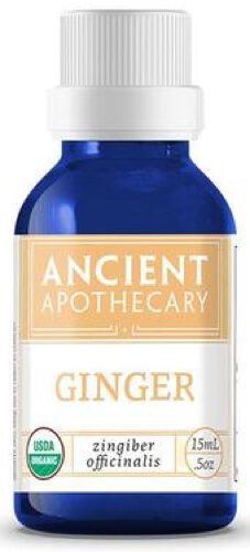 Ancient Nutrition Ginger Organic 15 ML Essential Oil