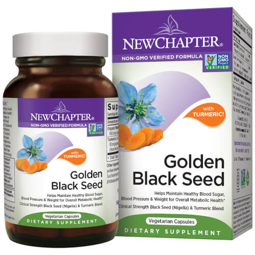 New Chapter Golden Black Seed  60 Capsules