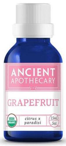 Ancient Nutrition Grapefruit Organic 15 ML Essential Oil