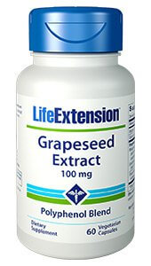Life Extension Grapeseed Extract 100 mg 60 Capsules