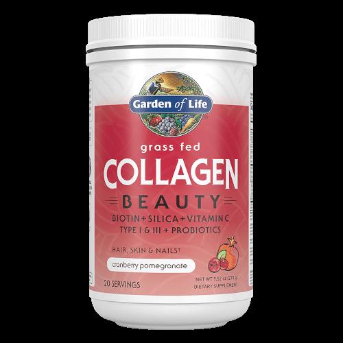 Garden of Life Grass Fed collagen Beauty Cranberry Pomegranate 270 gram Powder