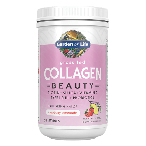 Garden of Life Grass Fed collagen Beauty Strawberry Lemonade 270 gram Powder