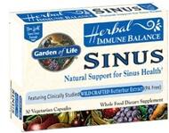 Garden of Life Immune Balance Sinus  60 Capsules