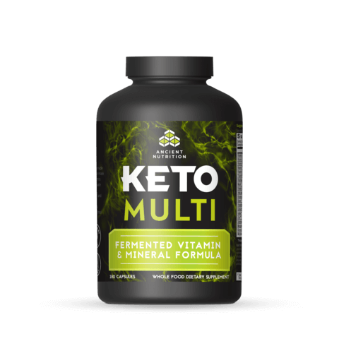 Ancient Nutrition Keto Multi  180 Capsules