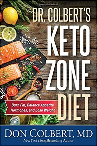 Dr Colbert Keto Zone Diet   Book