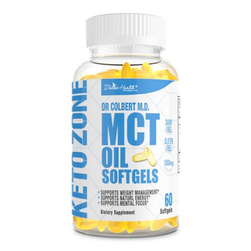 Dr Colbert Keto Zone Maximum MCT Oil  60 softgels
