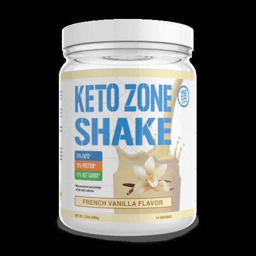 Dr Colbert Keto Zone Shake French Vanilla 14 Servings