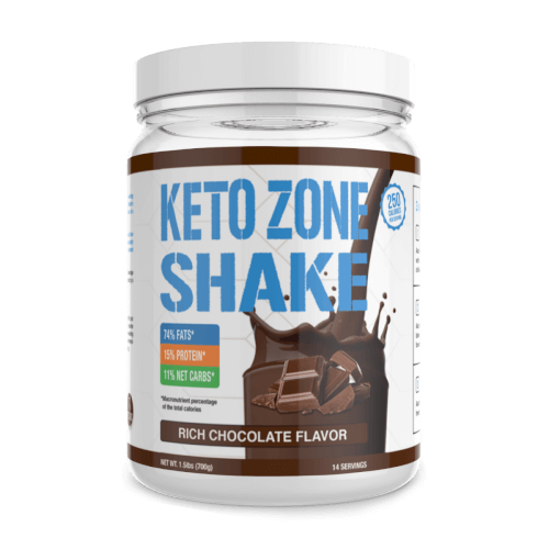 Dr Colbert Keto Zone Shake Rich Chocolate 14 Servings