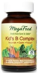 MegaFood Kids B Complex  30 Tablets
